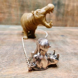 [Spot 1] Animal Department - Hippo Zhang Dazui Necklace