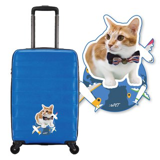 :toPET Custom - Luggage Stickers (Size XS-S)