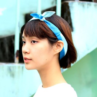 【The MAMA's Closet】Papillon (Light Green) / Classic Headband