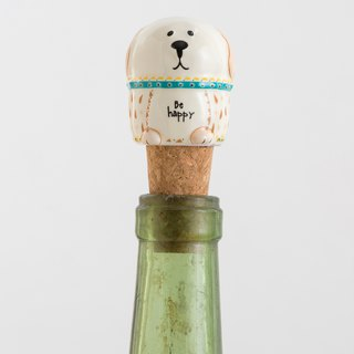 Styling wine stopper - dog | BS006