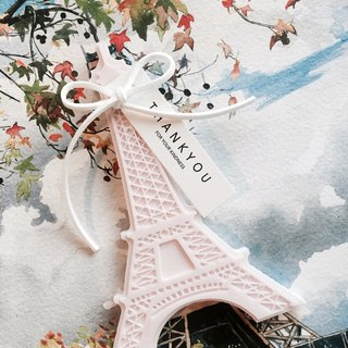 """No fire fragrance"" Eiffel Tower fragrance jewelry seat"
