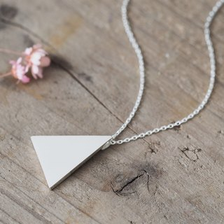 Big Triangle Long ネックレス 925 Sterling Silver