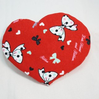 Love coaster - little bow (1pc)