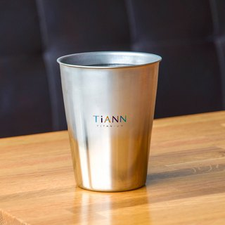 Titanium Coffee Cup (Silvery Grey)