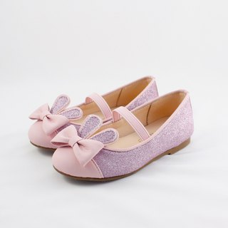 Rabbit Jumping Girls Doll Shoes - Shining Powder