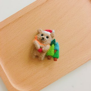 Mr. Lin Xiong - wool felt pins