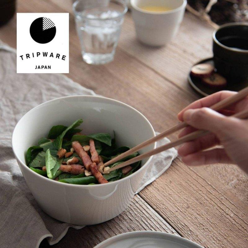 【Trip Ware Japan】直碗-無蓋 日本製 美濃燒 (經典白)
