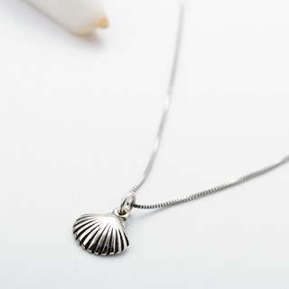 Cute Shell Ocean s925 sterling silver necklace Valentine's Day gift