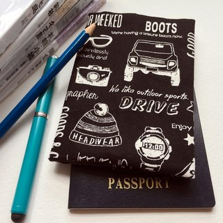 Pure hand travel passport holder passport holder