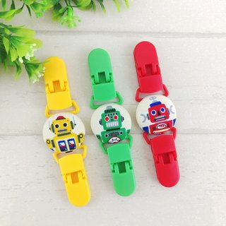 Color robot - 3 models are available. Handkerchief clip