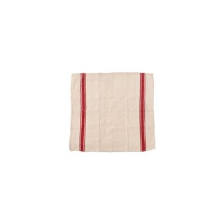 INDIA CLOTH Red Cotton Home Furnishing - Red Stripe