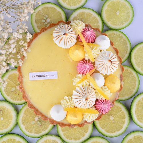 "[Christmas Gift Box] N ° 5 Lemon Tower - 6 ""[unique aroma of fresh lemon] - Birthday Cake Festival Gift Box"
