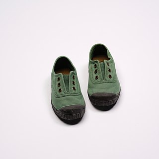 Spanish canvas shoes green black fragrant incense shoes can be washed T955997