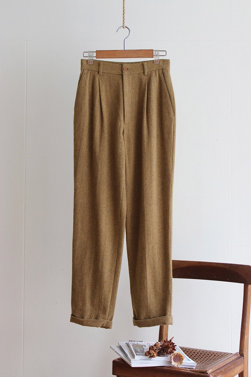 Under Vintage / CK winter wool trousers no.231