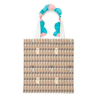 moumi Wall Frilly Tote