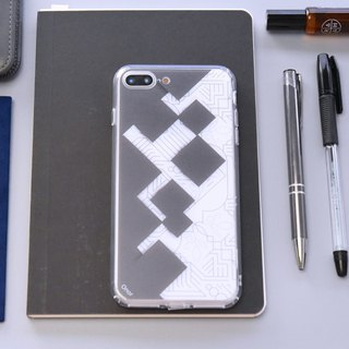 Geometry Circuit【Rhombus】Onor Crystals Phone Case