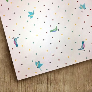 /Puputraga/Additional purchase~No separate sale~ Little bird language/wrapping paper