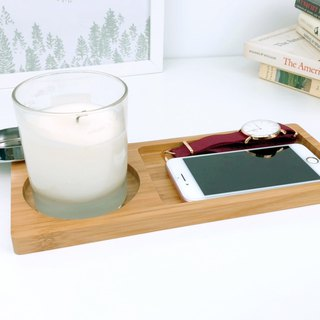 LIGFE Bamboo Long Tray