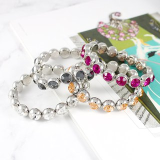 Bollywood Crystal Bracelet / Swarovski Crystal Element