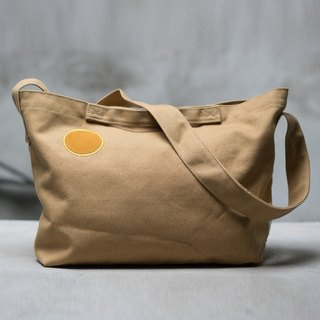 Small days canvas warm sun bag _ khaki