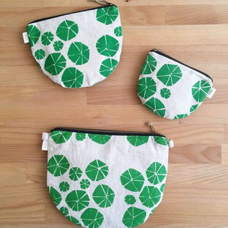 Screen printing  purse  Nasturtium