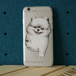 Home design - white squirrel dog Bomei phone case protection case Phone Case D14_B_0
