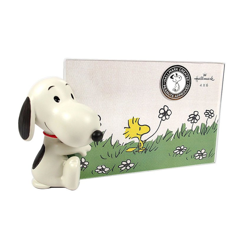 Snoopy Photo Frame-4x6【Hallmar-Peanuts Snoopy Decoration Gift】