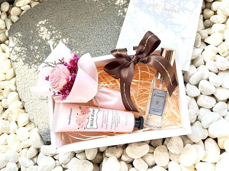 【畢業禮盒】~香氛花束&護手霜系列組合
