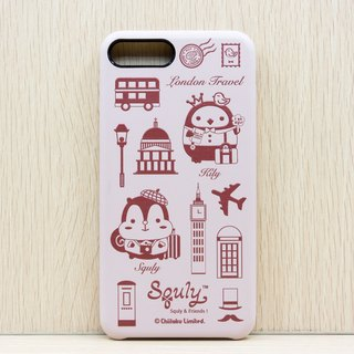iPhone 7 Plus PU Leather Back Case (London Travel) - G004SQE