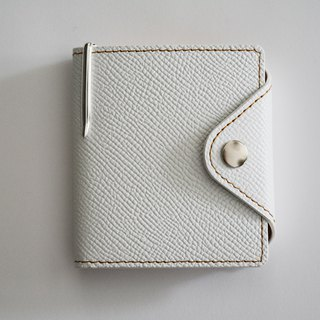 Culioro LEATHER MEMO COVER and PEN S White