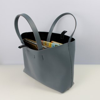 Zemoneni leather tote bag Black color in L Size