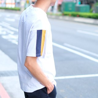 Straps Pocket Tee /cotton/shirt/henley