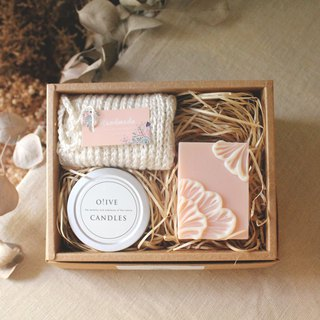 My girl | SOAP&CANDLE hand-made three-in-one gift box group (created and sold separately)