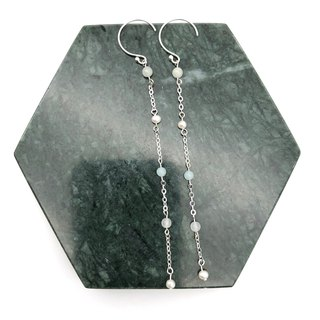 Pearls 925 Silver Earrings 【Christmas Gift】【Wedding Earrings】【Natural Stones】