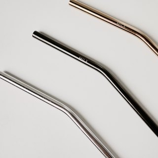MILX stainless steel metal straw