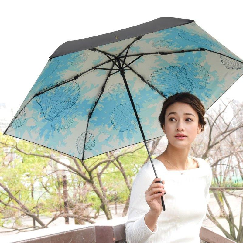 日本Solshade | 北歐風全遮光貝殼傘