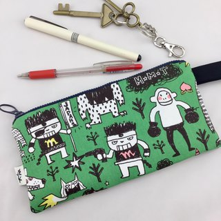 Monster Arena Green - Pencil Case