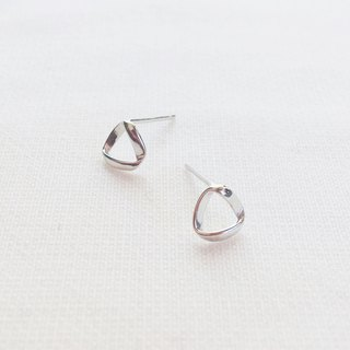 [Offer Combination] Triangle Circle and Twist Planet Stud Earrings S925 Sterling Silver Earrings