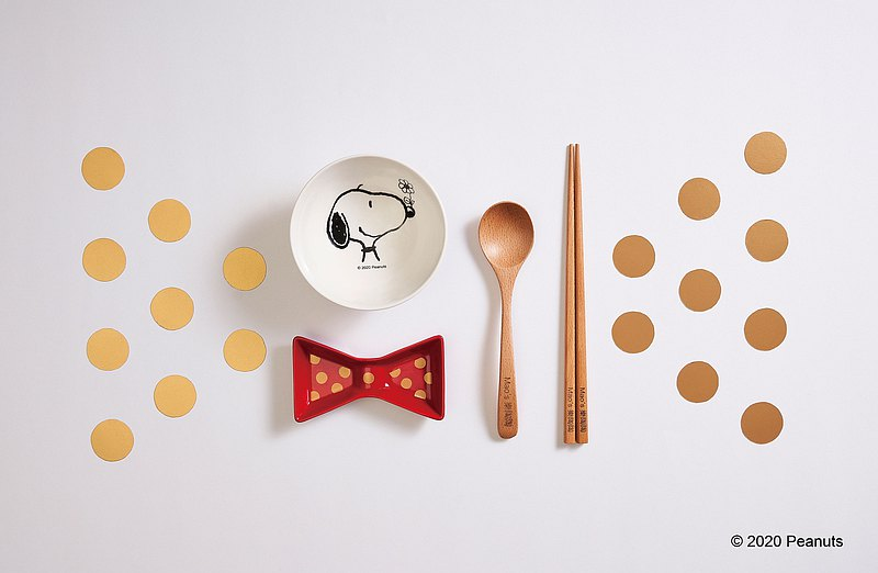 Peanuts Exclusive Dinning Set Gift Box