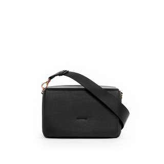 OBX Box Shoulder Bag, Black