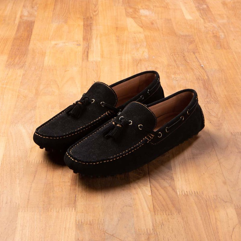 Vanger Styling Loafers-Va266 Suede Black