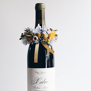 Wine Flower !!【爱神-Aphrodite】Dry flower wine tying flower tying flower gift wedding