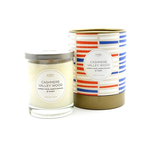[] American Soybean Oil Candles KOBO - autumn Jungle (330g / combustible 80hr)