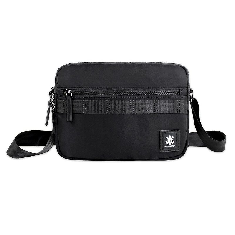 ROYAL ELASTICS - Knight Dark Knight Series Cross Body Bag - Black