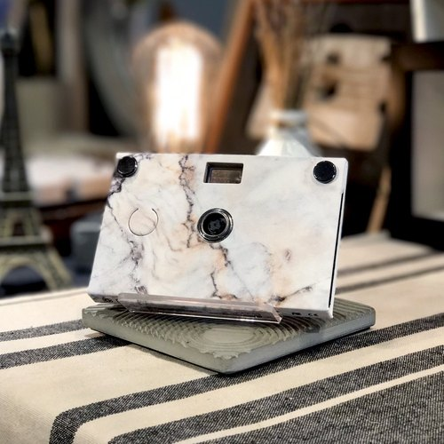 Paper Shoot paper camera, Stone Pattern - Calacatta Gold