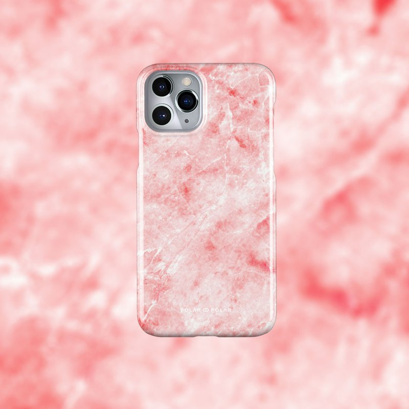 Polar Polar Red Marble iPhone/Samsung/Huawei Snap Case
