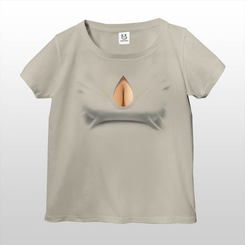 Mousou Drop T-shirt/ GRAY/ WS