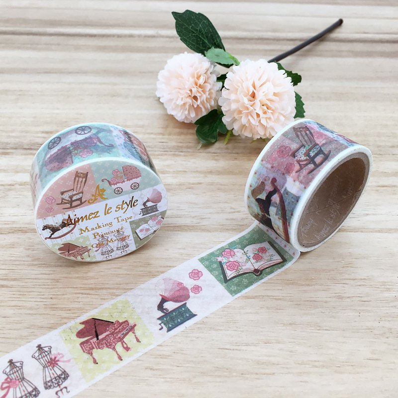 Aimez le style wild beauty deer and paper tape [old memories] A05182