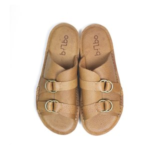 oqLiq - Root - Buckle Slipper (Pear Yellow)