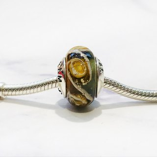 PANDORA/ Trollbeads / All major bead brands can be stringed * - Black brown